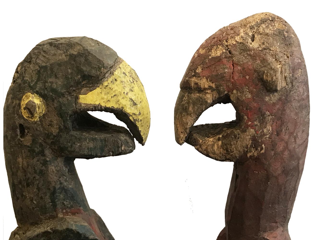 couple d'oiseaux-détails-temagalerie