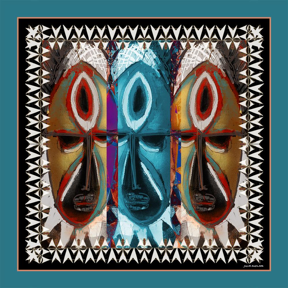 FOULARD-MAPRIK 90X90 cm-tema-galerie